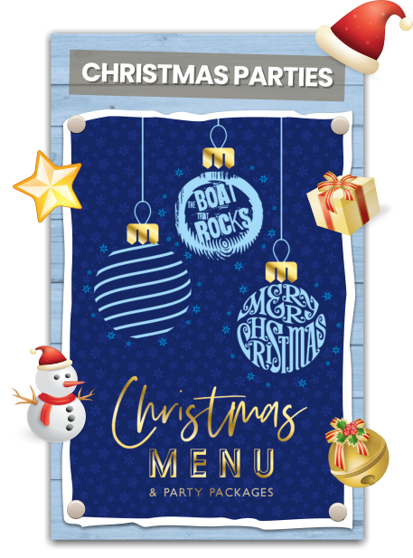 Christmas Parties at The Boat That Rocks