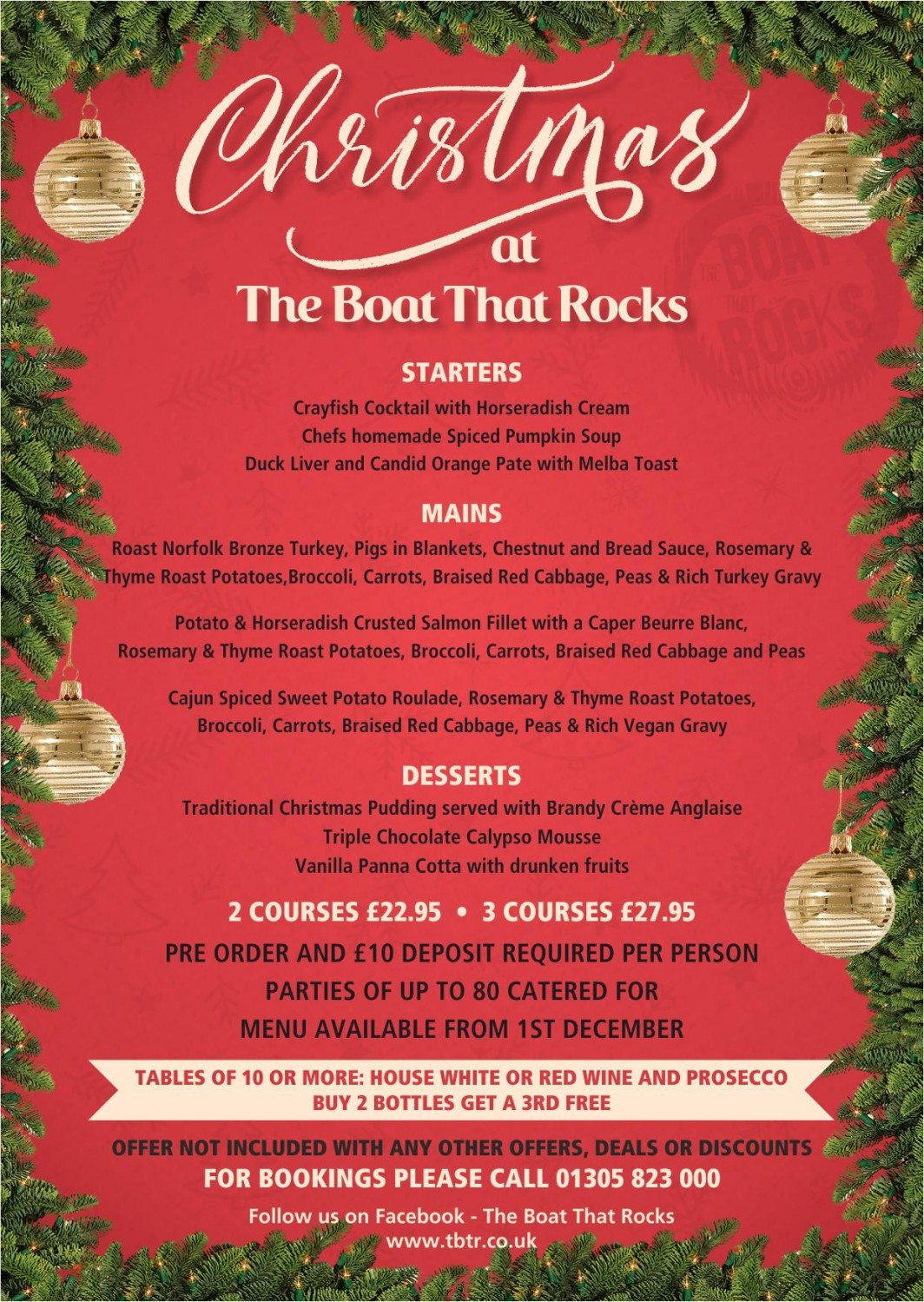 Christmas at The Boat That Rocks